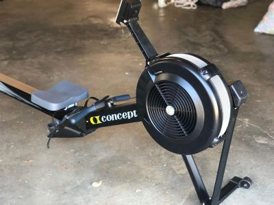 Rower- Concept 2 Model D with PM4