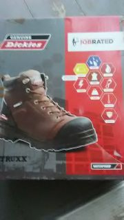 Steel toe Genuine dickies truxx waterproof job rated boots