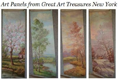 Vintage Four Seasons Prints - C. REGAN from Great Art Treasures