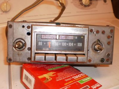 Oem 1972-1976 Corvette Delco Am/fm Stereo Gm Radio VETTE