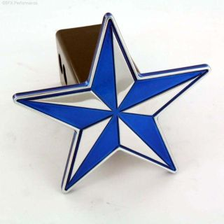 Sell All Sales 1014B Trailer Hitch Cover Blue Nautical Star motorcycle in Arlington, Texas, US, for US $34.00