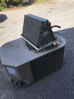 Used central air conditioner and coil