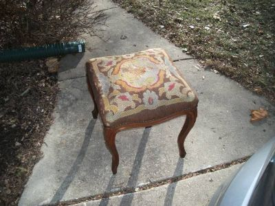 ANTIQUE OTTOMAN VERY OLD