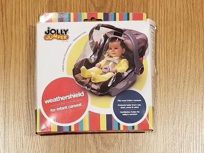 Jolly Jumper weathershield for car seat