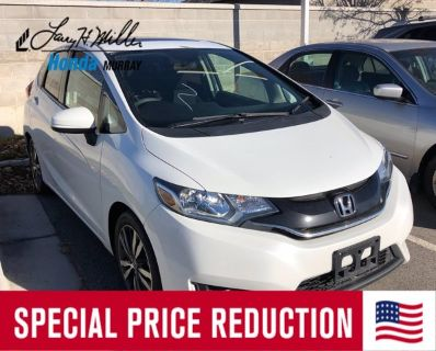 2017 Honda Fit EX (white)