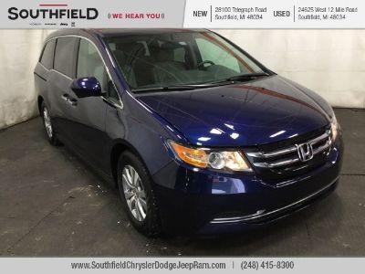 2016 Honda Odyssey EX-L w/DVD (Obsidian Blue Pearl)