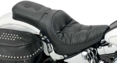 Purchase One-Piece Solo Style Seat with Driver Backrest Option Drag Specialties 0802-0731 motorcycle in Hinckley, Ohio, United States, for US $382.51