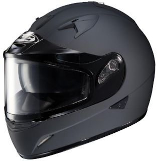 Sell HJC IS-16 Matte Black XL Dual Lens Snowmobile Full Snow Sled Helmet motorcycle in Ashton, Illinois, US, for US $146.24