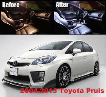 Purchase 6x SMD White LED Lights Bulbs Interior Package Deal 2004-2012 Toyota Prius 6000K motorcycle in San Gabriel, California, US, for US $16.99