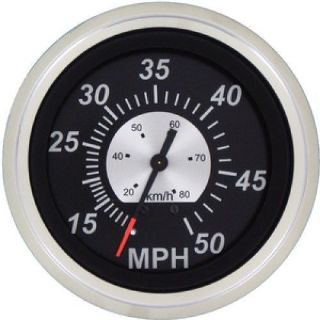 Buy Teleflex #68960ph - 3 Inch - 50 Mph Speedometer - Black Sterling Gauge motorcycle in Largo, Florida, United States, for US $65.89
