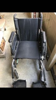 Quickie By Sunrise Medical Lightweight Foldable Wheelchair