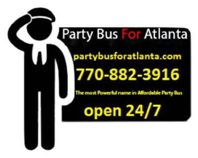 ⭐️💕⭐️ #➀ Party Bus For Atlanta ® - Limousines Booking ⭐️💕⭐️