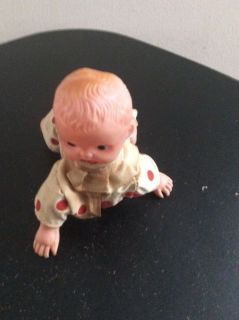 Vintage automatic crawling baby toy works