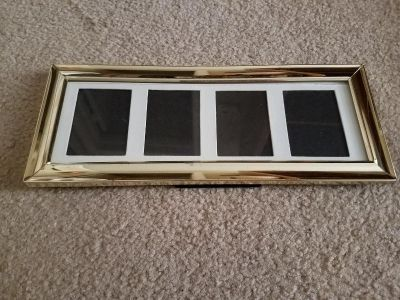 5x12, PICTURE FRAME WITH STAND, EXCELLENT CONDITION, SMOKE FREE HOUSE