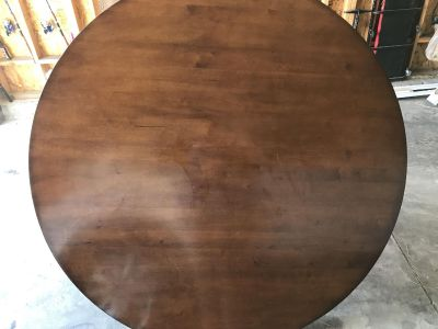 58 wood dining table