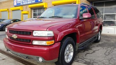 2004 Chevrolet Suburban 1500 Z71 (Sport Red Metallic)