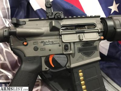 For Sale: No tax!Price Drop! Harley Davidson AR-15 cc s accepted