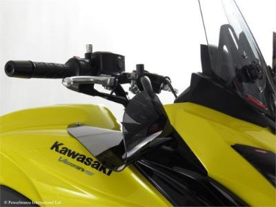 Find Kawasaki Versys 650 15 16 Wind Air Deflectors Dark Tint MADE IN ENGLAND (PB) motorcycle in Ann Arbor, Michigan, United States, for US $109.95