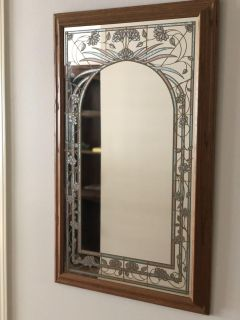 Mirror - moving must sell- front porch pick up