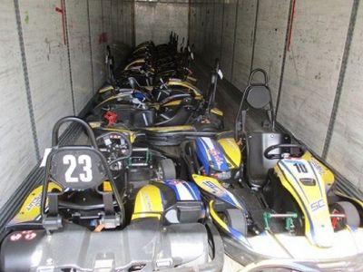 (12) SodiKart RX8 Go Karts RTR# 8101270-01
