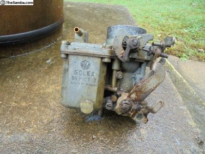 used german carb 30-PICT 2