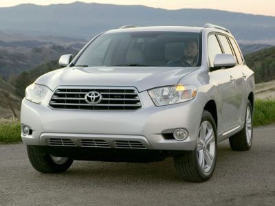 2010 Toyota Highlander Base (Salsa Red Pearl)