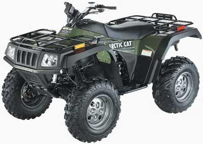 2003 Arctic Cat 500 4X4 ATV Utility ATVs Littleton, NH