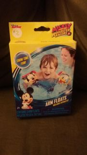 New! Mickey and the roadsters arm floats.