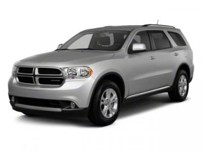2012 Dodge Durango Crew (Deep Molten Red Pearl)