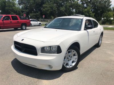 2007 Dodge Charger Base (White)