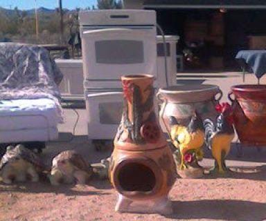 Yard & Pottery Sale (57839 Yucca Trail)