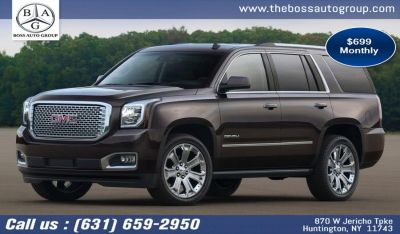 2019 GMC Yukon AWD 4dr 1500 Denali (Carbon Black Metallic)