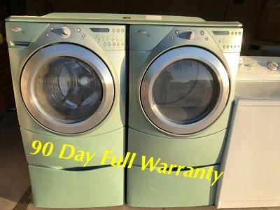 Refurbished Whirlpool Duet Washer/220volt Dryer