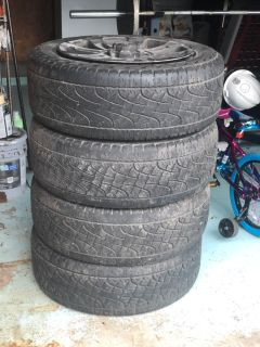 Toyota Tundra 20 rims with tires