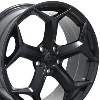 """Buy 18"""" Wheels For Ford Focus 2012 - 2013 Fusion C-Max Taurus Black Rims Set Of 4 motorcycle in Ontario, California, United States, for US $510.00"""