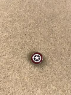 Captain America- floating charm- brand new