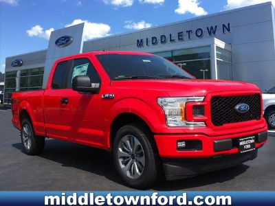 2018 Ford F-150 XL (Race Red)