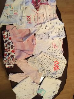 Baby girl clothes 6month and 6/9month