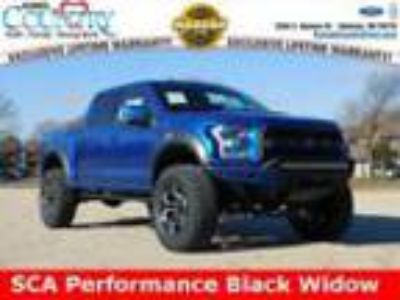 2018 Ford F-150 Raptor 2018 Ford F-150 Raptor Lightning Blue 4D SuperCrew