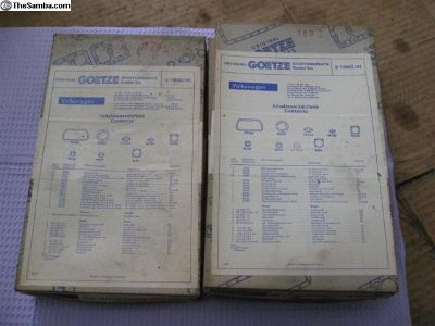 Goetze German engine Gasket set 40hp NOS