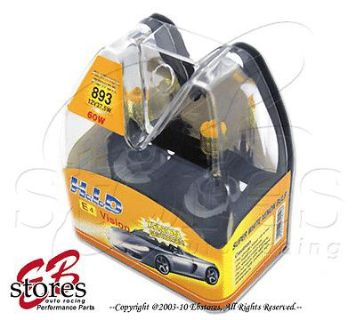 Purchase Yellow 3000K 893 37.5w Xenon HID Foglight Light Bulbs motorcycle in La Puente, California, US, for US $7.95