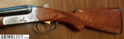 For Sale: Weatherby Orion D'Italia Side By Side 20 gauge