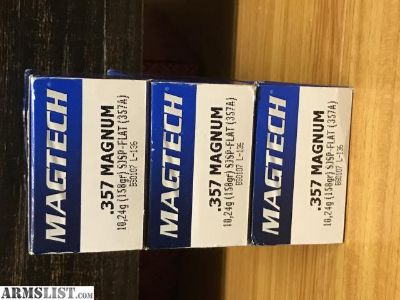 For Sale: Magtech .357 Magnum 150rd