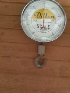 dillion scale 2500  collectors item