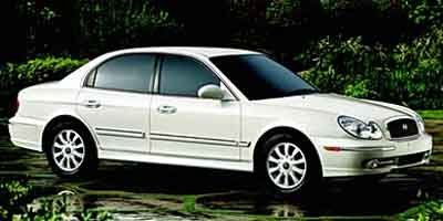 2002 Hyundai Sonata Base (Silver)