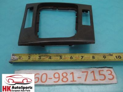 Sell BMW E46 323I 325I 328I 330I SEDAN CENTER CONSOLE SHIFTER BEZEL TRIM MOLDING WOOD motorcycle in Hesperia, California, United States, for US $44.43