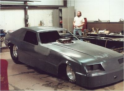 Wanted: 85 Mustang Funny Car Body
