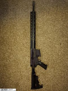 For Sale/Trade: Two ARs. 16 and 18 inch.