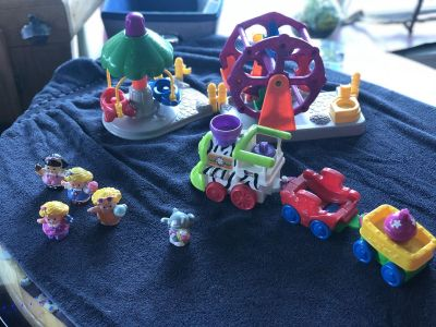 Fisher Price circus pieces
