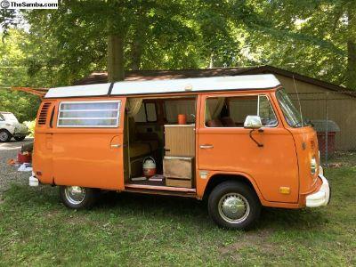 1973 VW Bus Camper Westfalia Awesome shape!